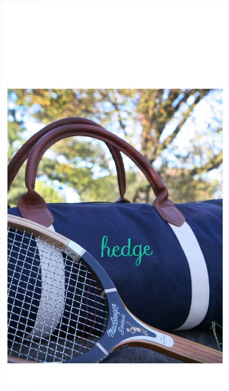 Racquets Bag Collaboration with Shapland - HEDGE