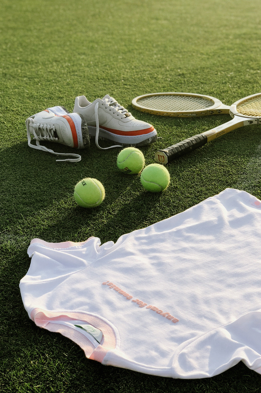 Anyone For Tennis? - HEDGE