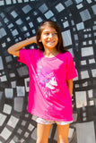 WAR CHIEF  YOUTH T-SHIRT - PINK