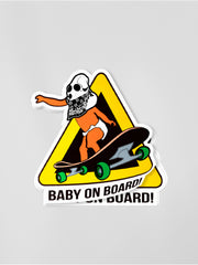 Baby on Board! - Diecut Sticker