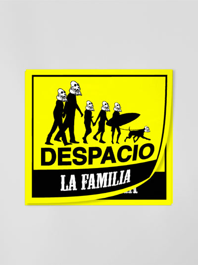 Despacio - (Spanish) Diecut Sticker