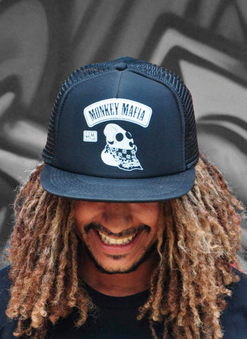 O.M. FOAM TRUCKER BLACK - Snapback - MONKEY MAFIA © 2012 - 2019
