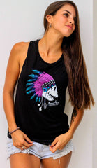 War Chief Purps Women's Tank