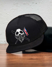 N.M Foam Trucker Black - Snap back