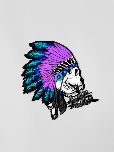 War Chief Purps - Diecut Sticker