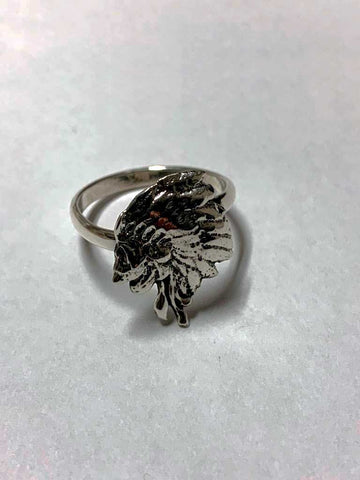 925 P/Silver W.C Jungle Chief Womens Rings