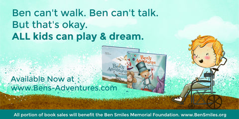 Ben's Adventures:  Stories about adventure and inclusion