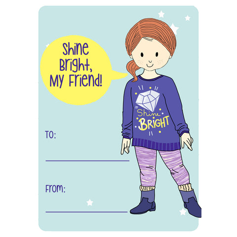 Shine Bright Valentine's Day Cards
