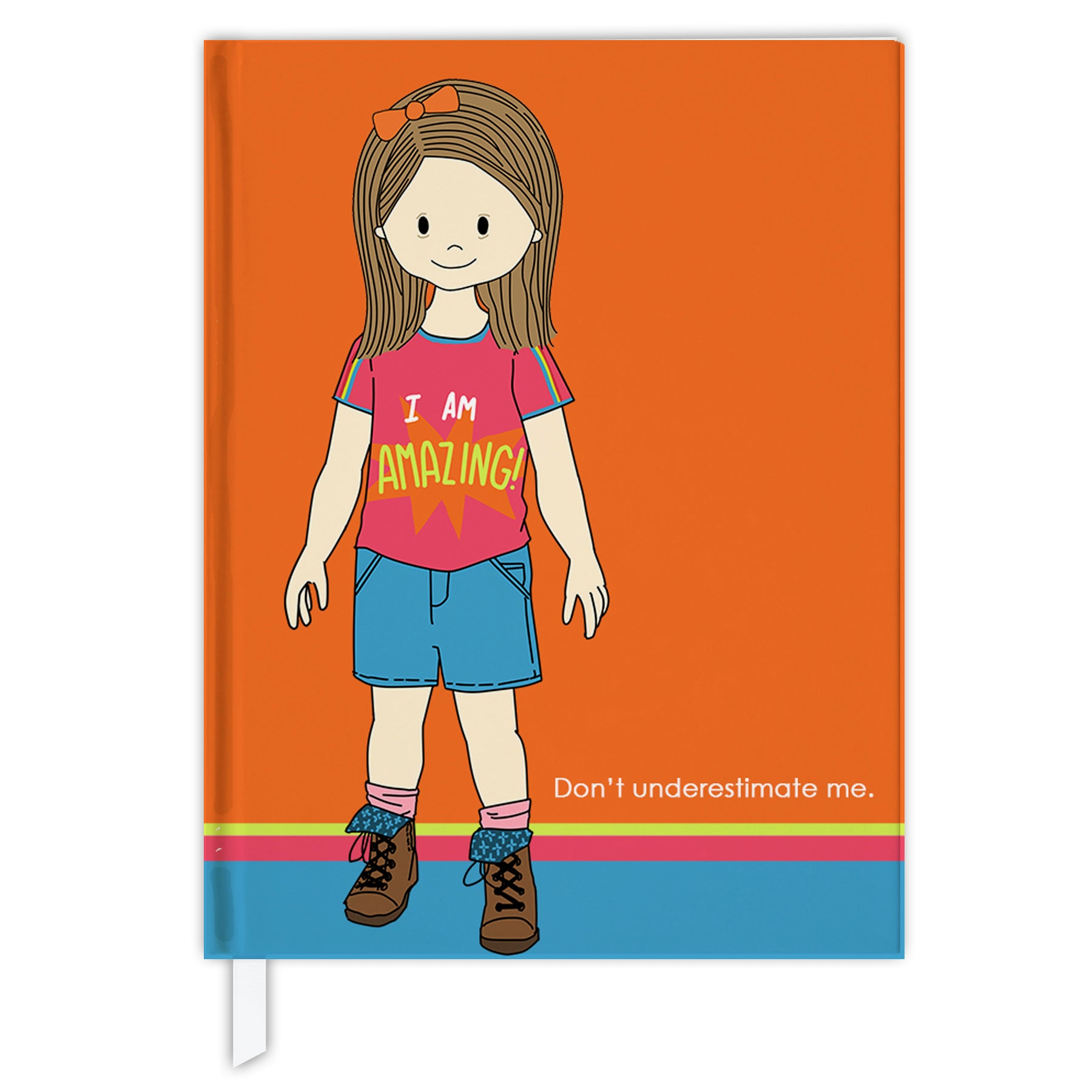 Hard Cover Journal:  Amazing Down Syndrome Girl