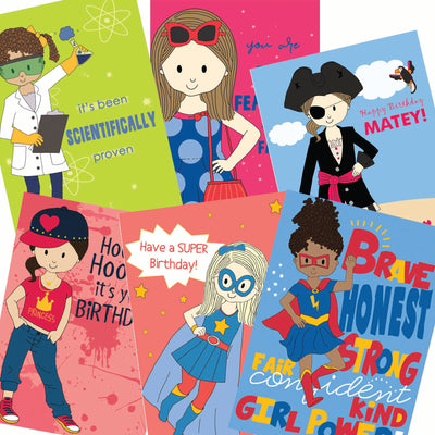 Birthday Card Assortment - Powerful Girls