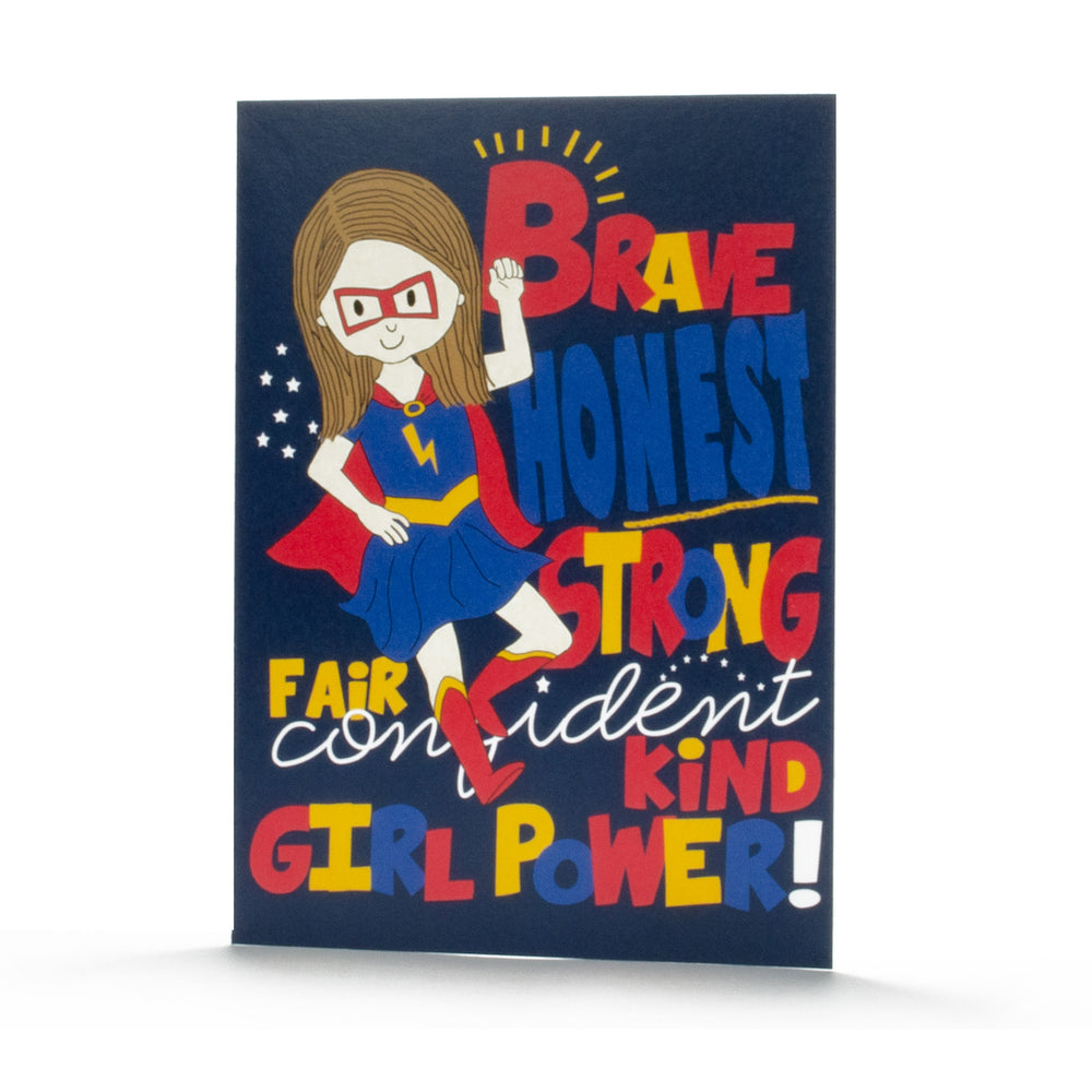 Birthday Card- Girl Power
