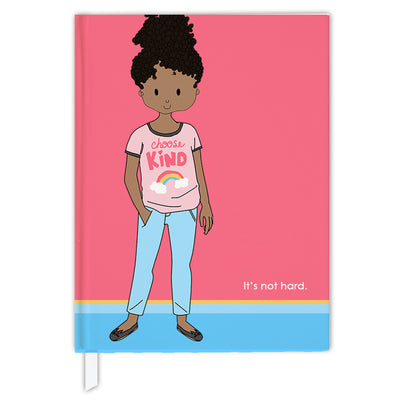 Hard Cover Journal:  Choose Kind Girl
