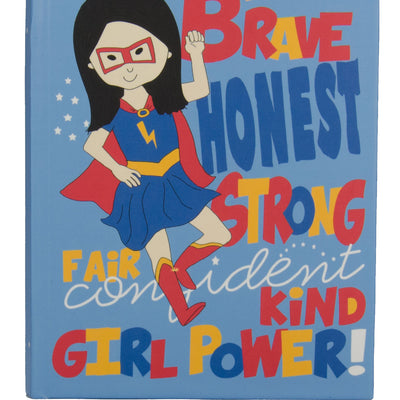 Hard Cover Journal: Girl Power!