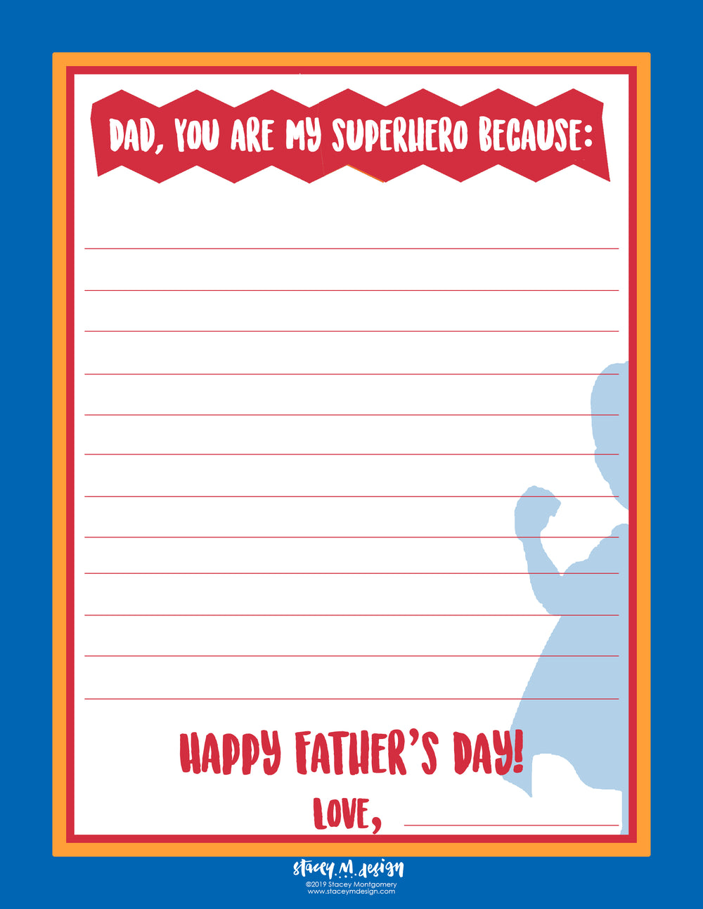 Free Download- Superhero Dad