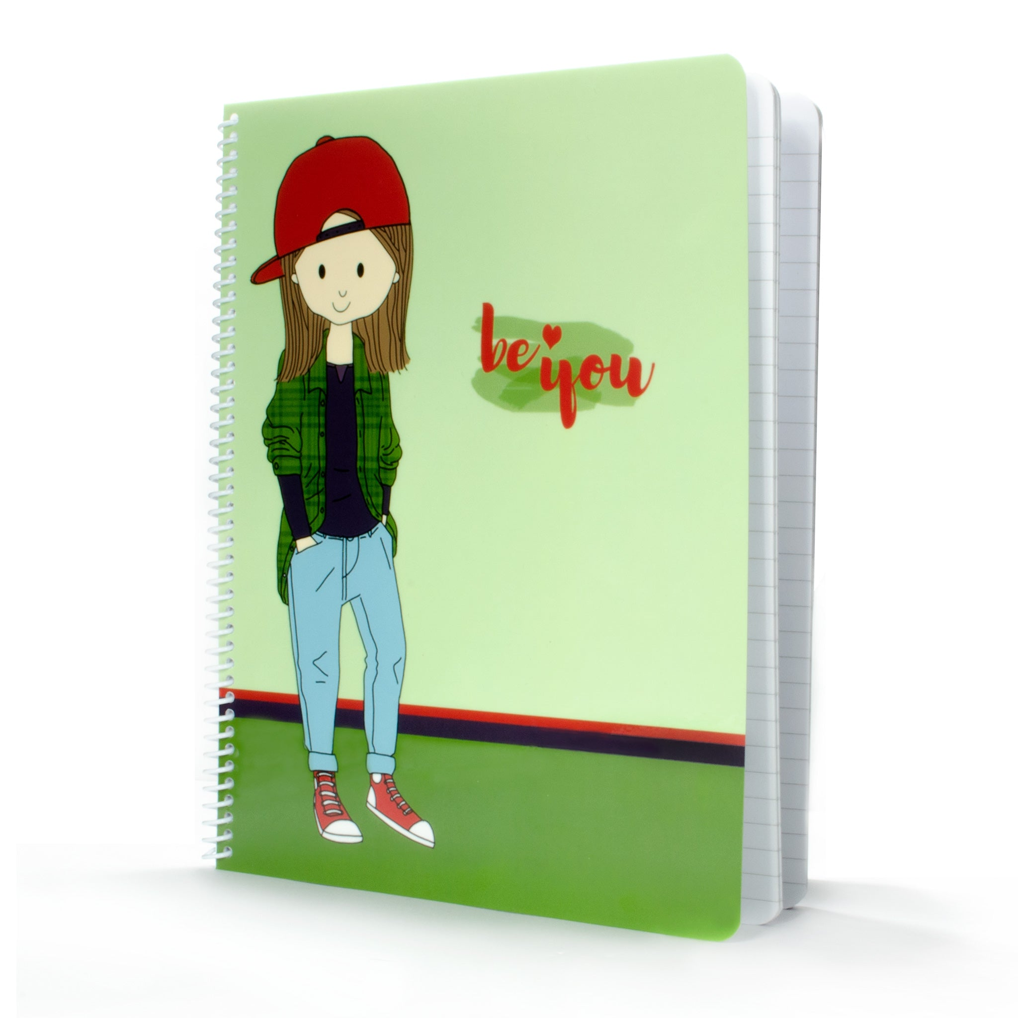 Be You Spiral Notebook - Stacey M Design