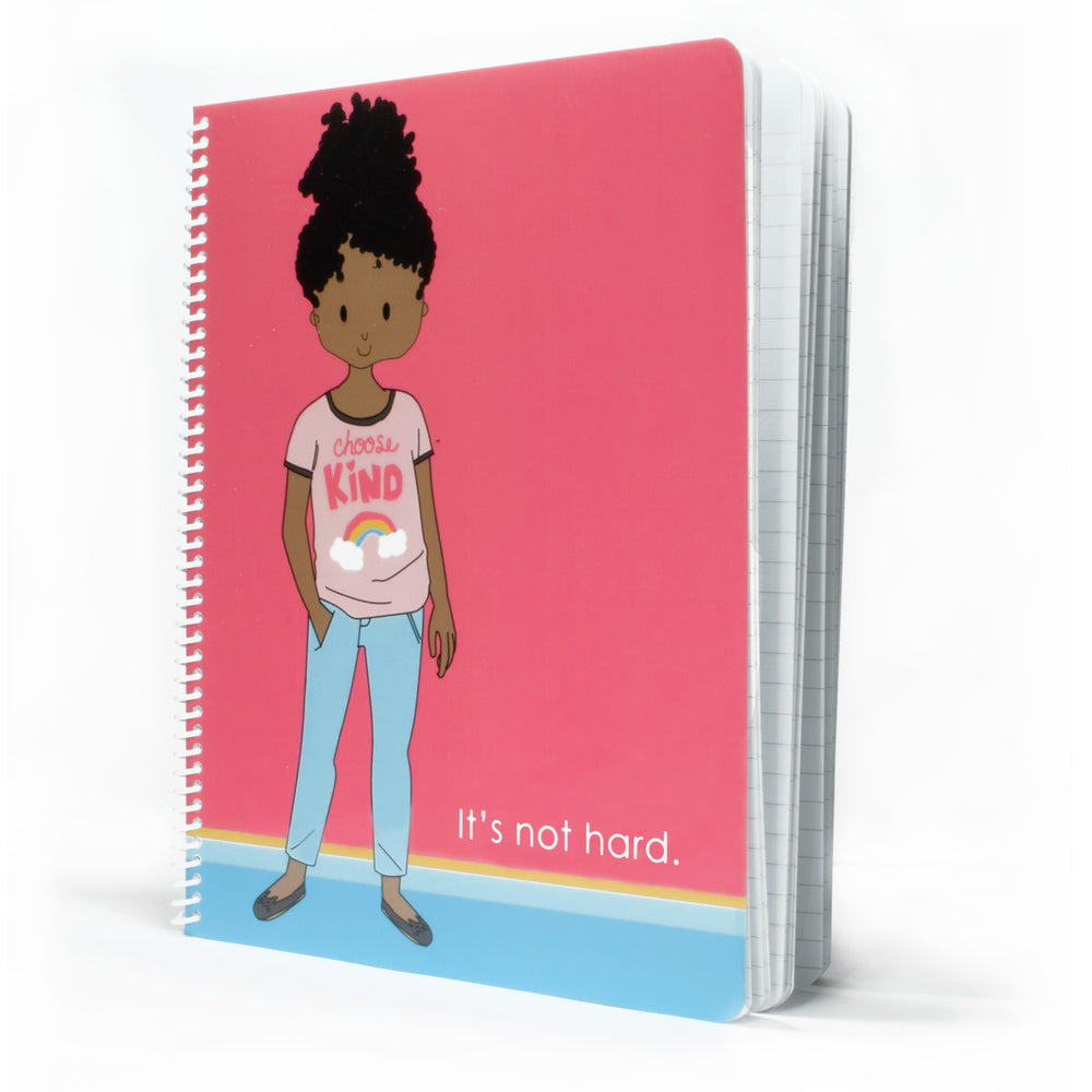 Choose Girl Spiral Notebook - Stacey M Design