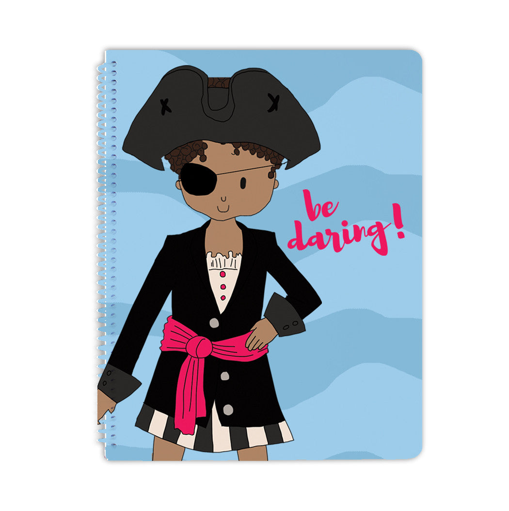 Be Daring Spiral Notebook - Stacey M Design