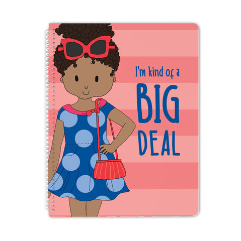 Big Deal Spiral Notebook - Stacey M Design