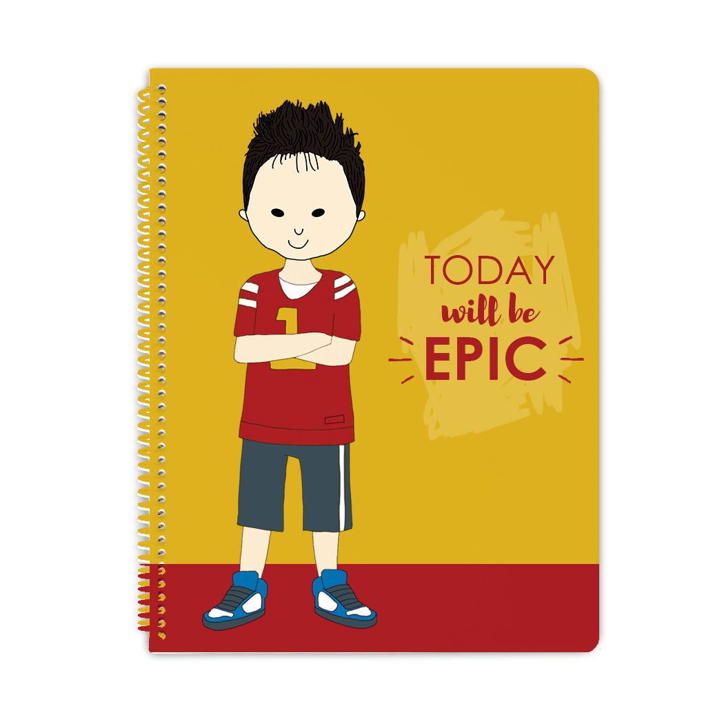 Spiral Notebook - Epic Day