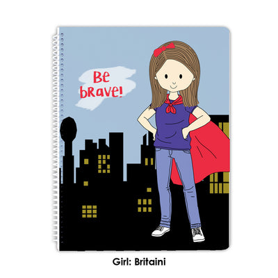 Spiral Notebook - Be Brave Spiral Notebook
