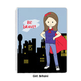 Be Brave Spiral Notebook - Stacey M Design