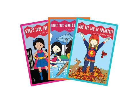 "Guided Journal:  ""My Super Powers"" Guided Journal Series Subscription"