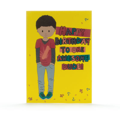 Birthday Card- Skater Style