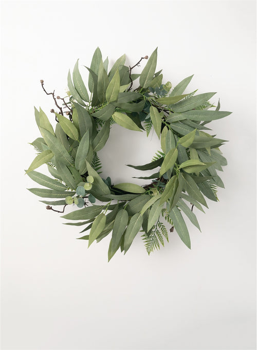 Eucalyptus Mixed Wreath - 34""