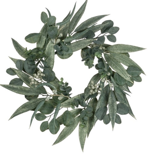 California Eucalyptus Wreath - 6""
