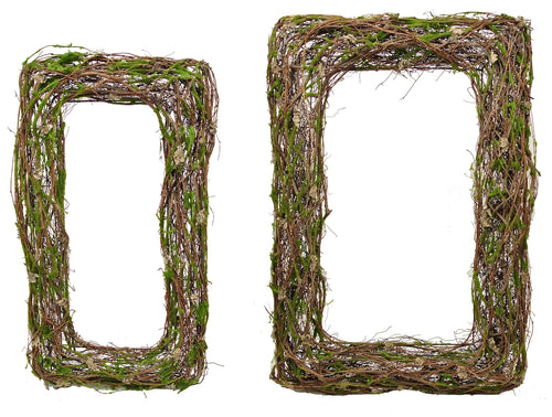 Rectangle Vine Wreath