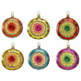 Christmas Dazzle Reflector Ornaments by Inge