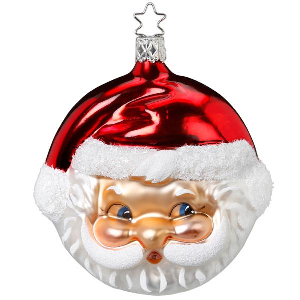Jolly Claus Ornament by Inge-Glas
