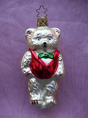 Papa Bear Animal Ornament by Inge