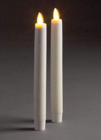 LIGHTLi Moving Flame LED Candles - Tapers