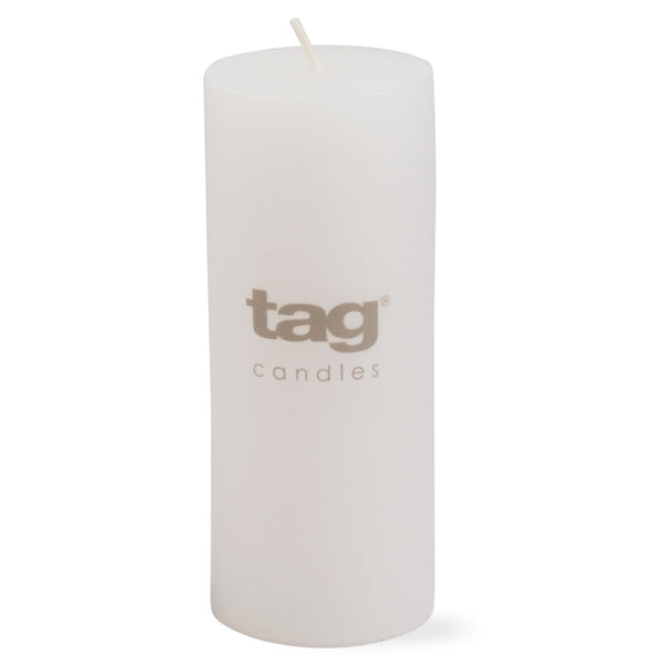 Chapel Candle- White 5x2 Pillar by Tag