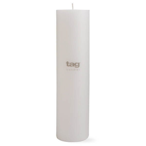 Chapel Candle- White 12x3 Pillar by Tag