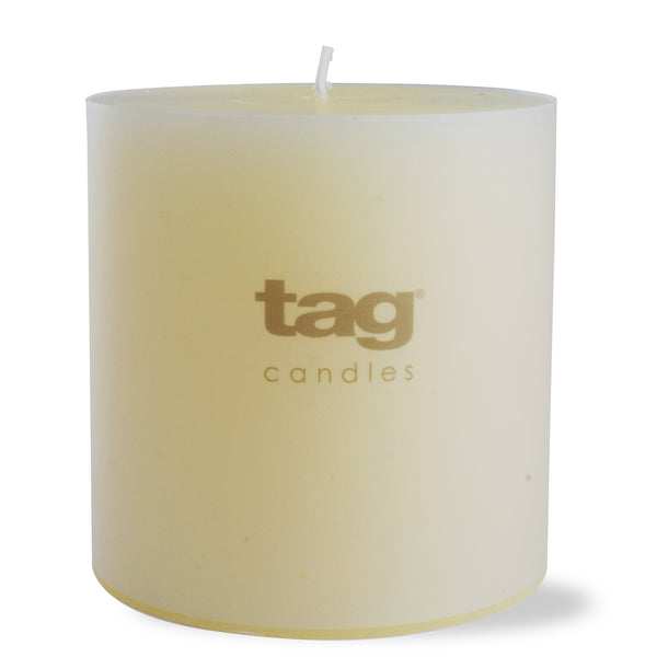 Chapel Candle- Ivory 4x4 Pillar by Tag