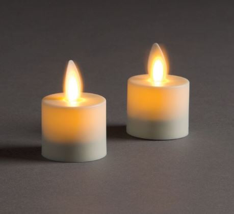 LIGHTLi Moving Flame LED Candles - Tealights