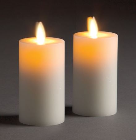 LIGHTLi Moving Flame LED Candles - Votives