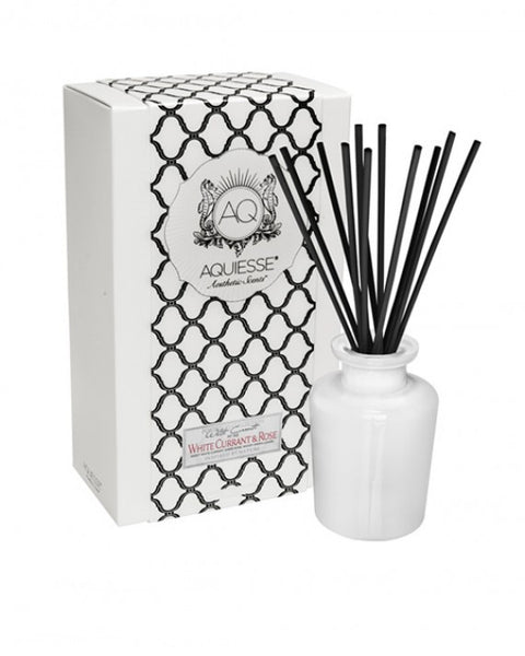 WHITE CURRANT & ROSE~APOTHECARY REED DIFFUSER by AQUIESSE