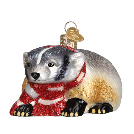 Wisconsin Helmet Ornament