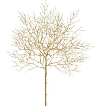 Gold Twig Spray - 23""