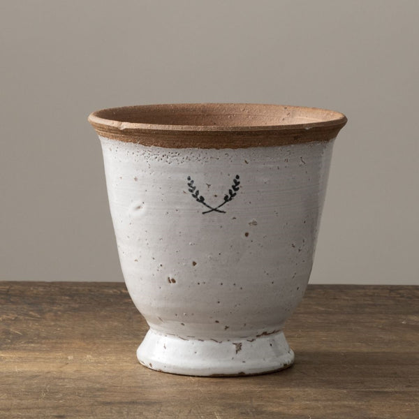 Ceramic Laurel Planter