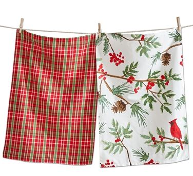 Cardinal Dishtowel Set
