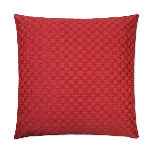 Full Circle-Red Pillow