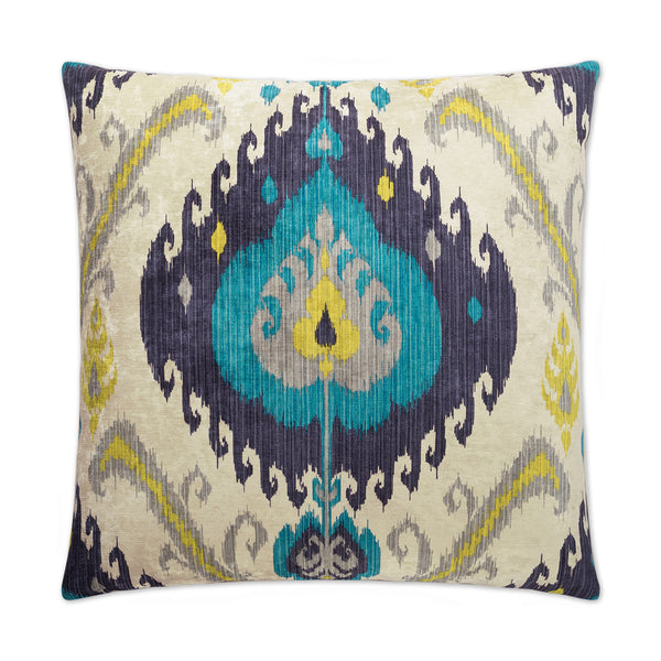 Samarkand-Peacock Pillow