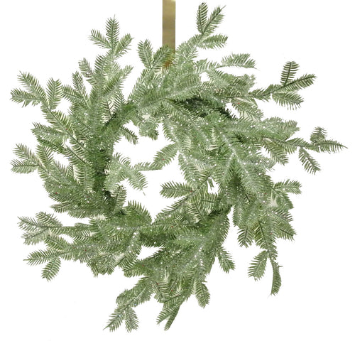 Ice Glacier Pine Wreath