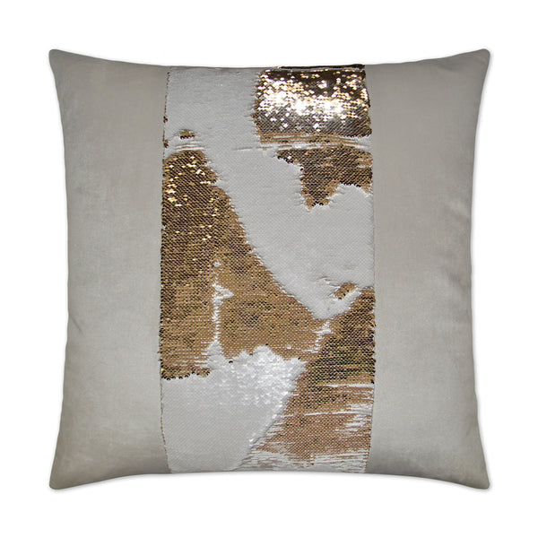 Hylee II-Gold Sequin Pillow