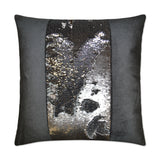 Hylee II-Pewter Sequin Pillow
