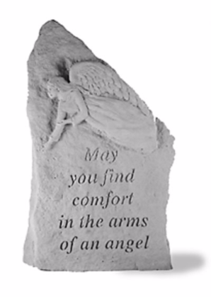May You Find Comfort Garden Stone
